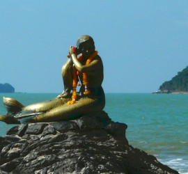 golden mermaid songkhla