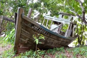 old ship tioman island