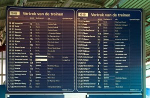 Train schedule Utrecht Centraal