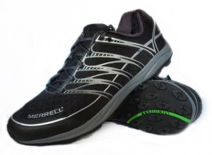 Merrell trail running shoes gear