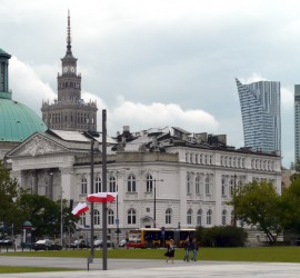 Warsaw Poland past present future