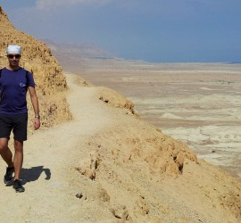 Backpacking in Israel