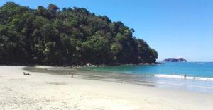 Beach in Manuel Antonio National Park