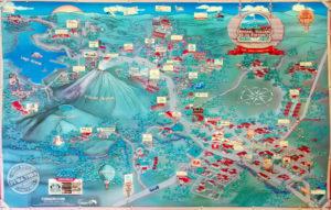 La Fortuna El Arenal budget travel map