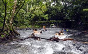 La Fortuna (El Arenal) free hot springs