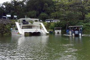 Bus-boat-bus cheap travel la fortuna monteverde