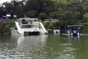 Bus-boat-bus cheap travel la fortuna monteverde