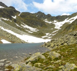 High Tatras mountain lake