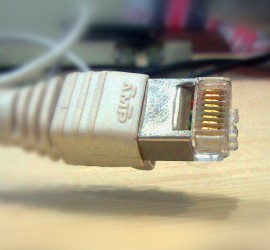 Disconnected network cable