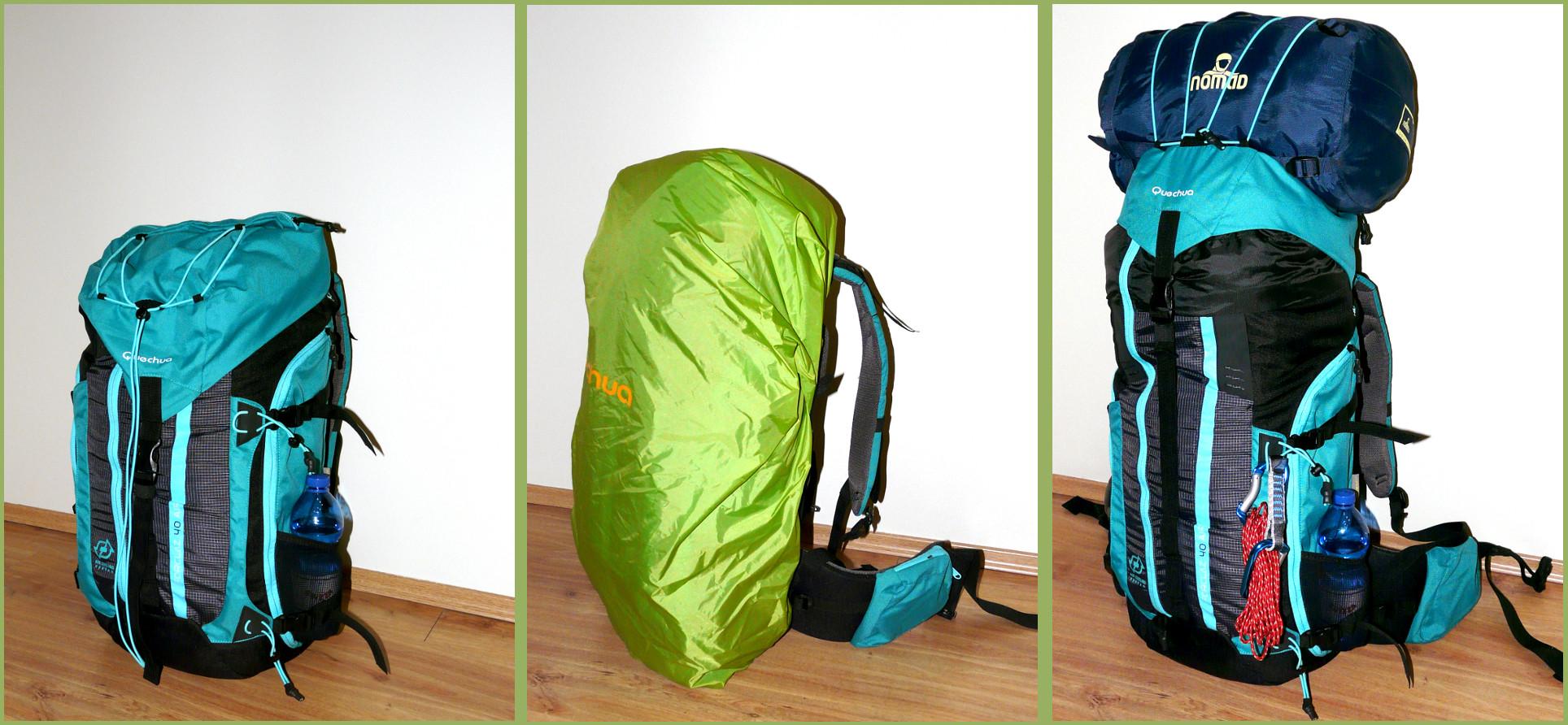 Gear Review Quechua Forclaz 40 Air Backpack